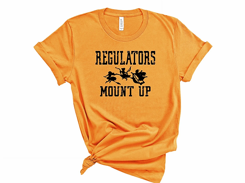 Regulators Mount Up