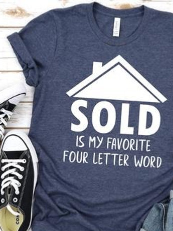 SOLD is my favorite four letter word