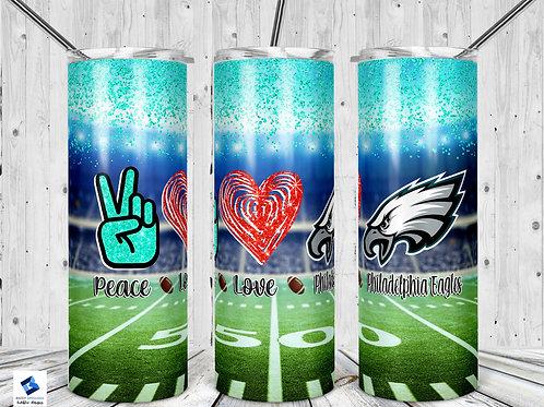 Peace Love Eagles