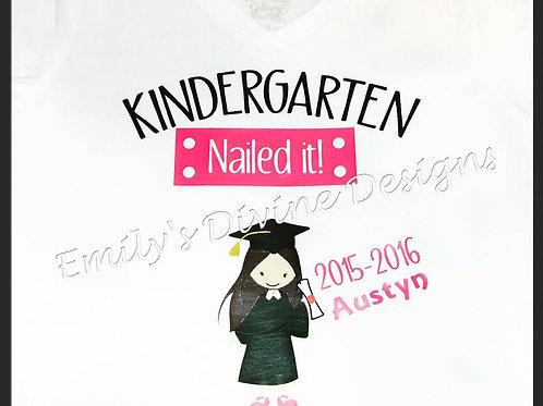 Kindergarten/Pre-school shirt