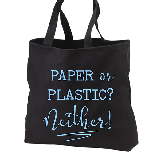 Paper or plastic? Neither! Tote