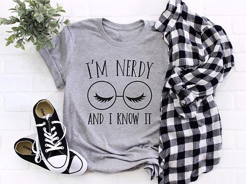 I'm nerdy and I know it