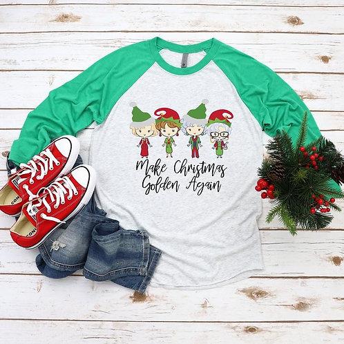 Make Christmas Golden Again