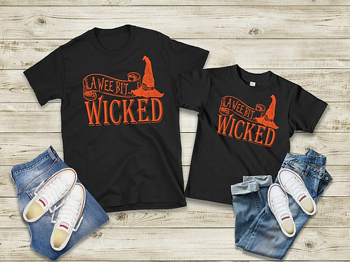 A wee bit wicked (orange ink-adult only)