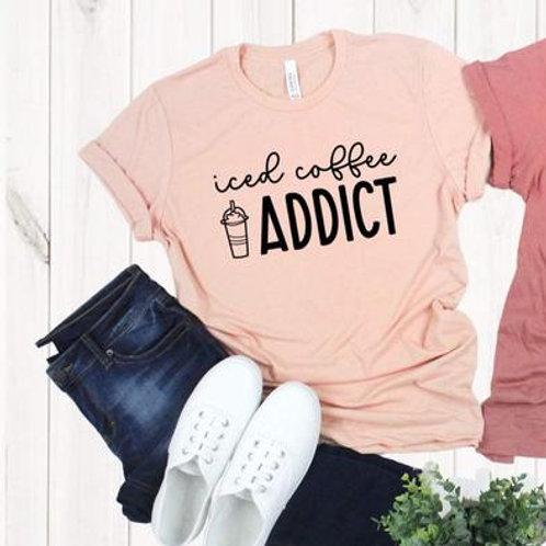 Iced Coffee Addict (black)