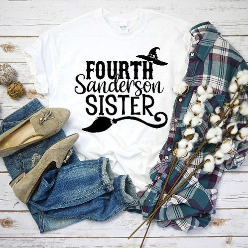Fourth Sanderson Sister (black ink)