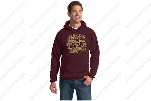 ADULT Belen Junior Wrestling Hooded Sweatshirt