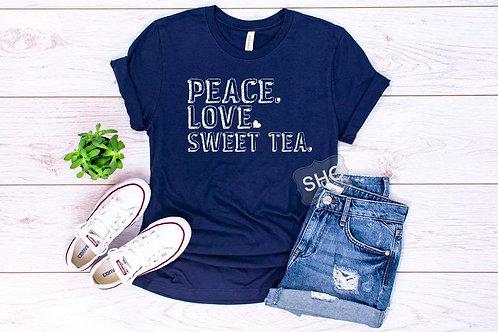 Peace. Love. Sweet Tea.