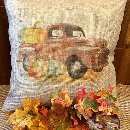 Red Ford Pillow Cover