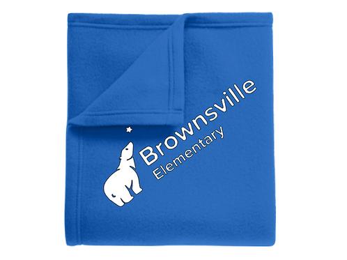 Brownsville Elementary Fleece Blanket