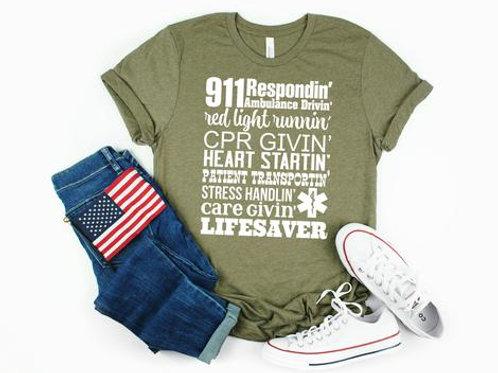 911 Respondin'-Livesaver