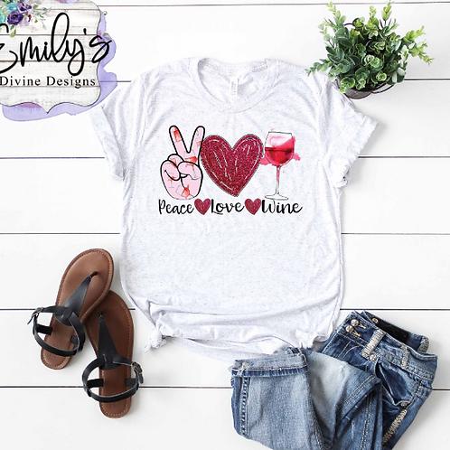 Peace Love Wine