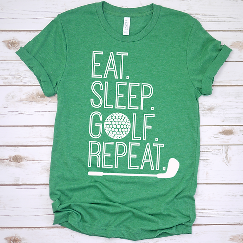 Eat Sleep Gold Repeat