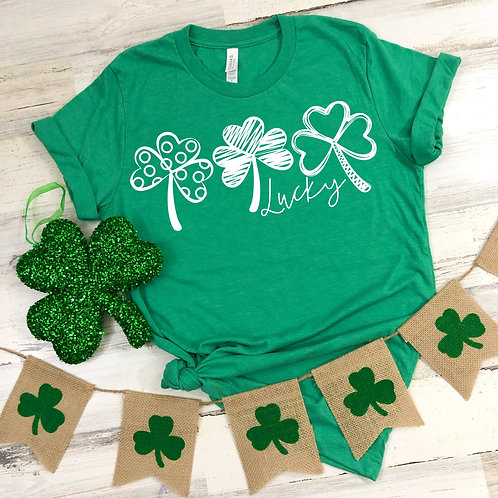 Lucky with Clovers