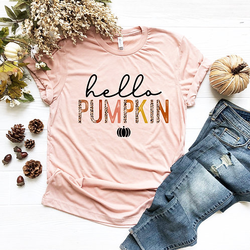 Hello Pumpkin (leopard)