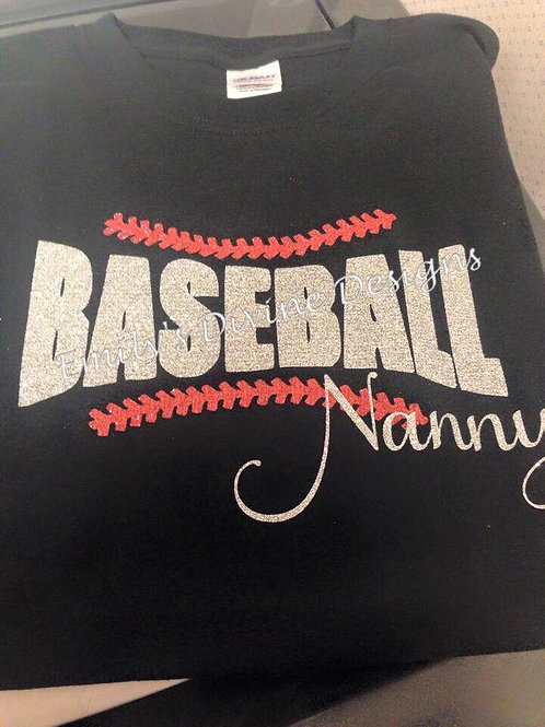 Baseball Nanny Shirt
