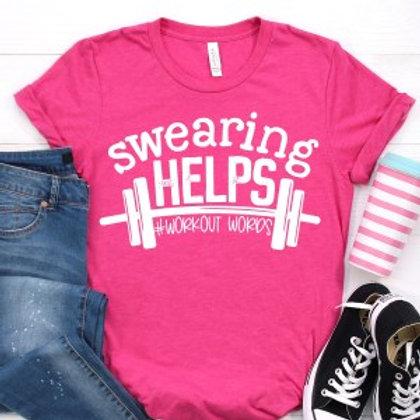 Swearing helps #workoutwords