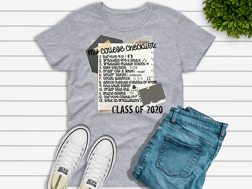 My college checklist (sublimation)