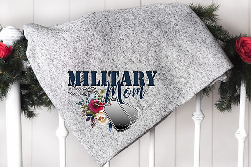 Military Mom Blanket