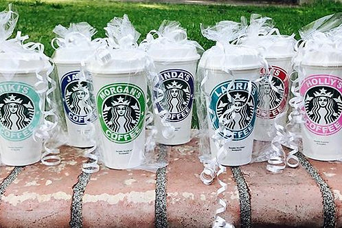 Personalized  Reusable Coffee Cup