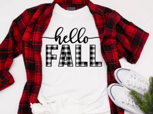 Hello Fall (WHITE INKNOT BLACK INK)