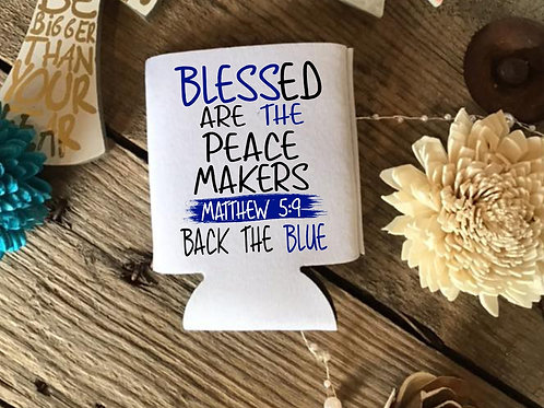 Blessed are the peace makers (back the blue)