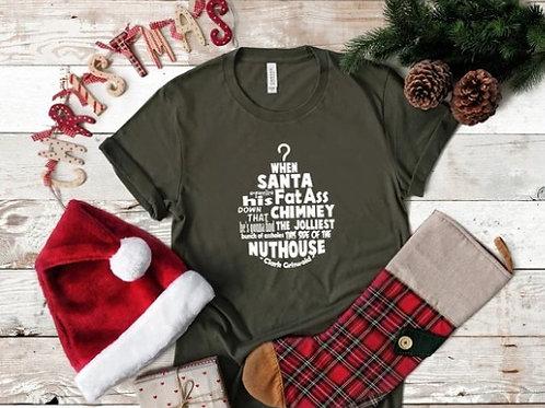 When Santa Squeezes his fat ass