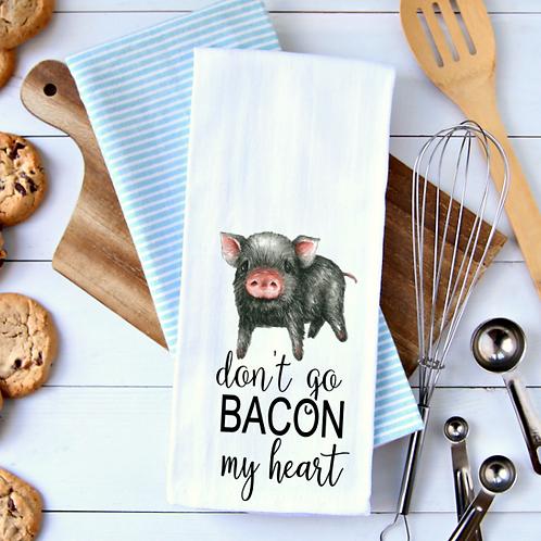 Don't go bacon my heart (pig)