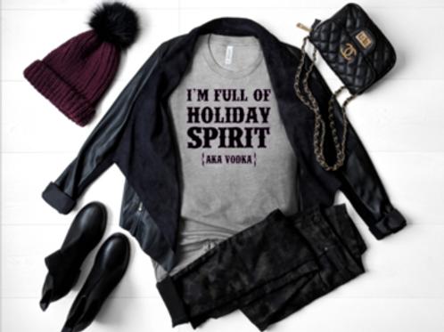 I'm full of holiday spirit (AKA Vodka)