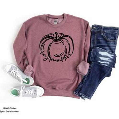 Hey Pumpkin (black ink)