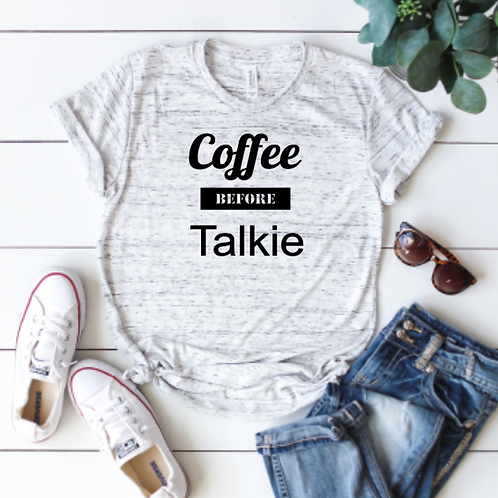Coffee before Talkie (sublimation)