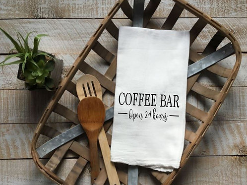 Coffee Bar-Open 24 hours-