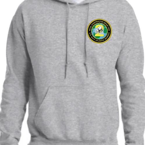 NCG2 Hooded Sport Grey Sweatshirt