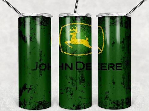 John Deer tumbler