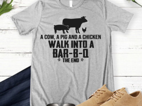 A cow, a pig and a chicken walk into a bar-b-q (the end)
