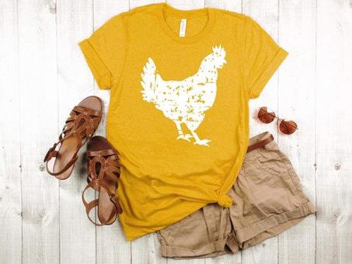 Distressed Chicken