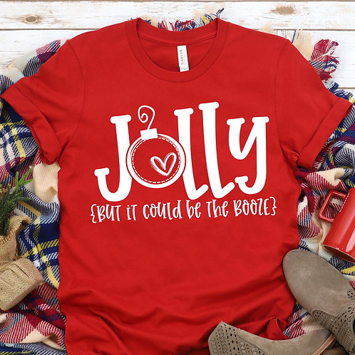 Jolly (but it could be the booze)