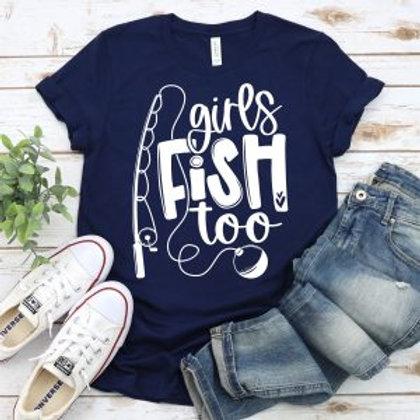 Girls fish too