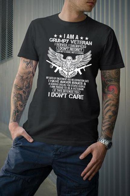 I am a grumpy Veteran