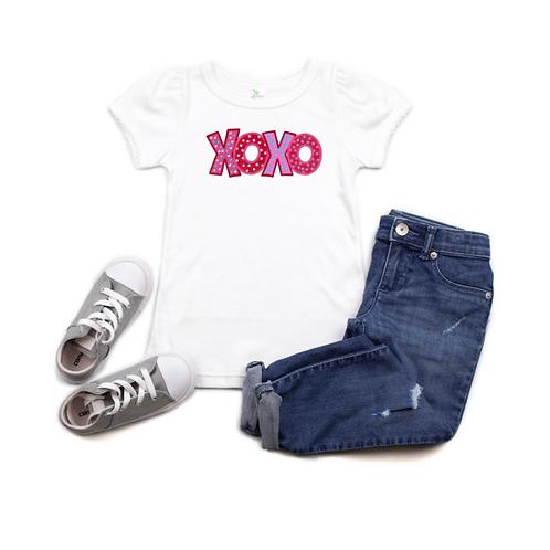 XOXO Hot Pink