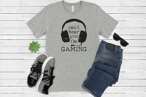 Can't hear you I'm gaming