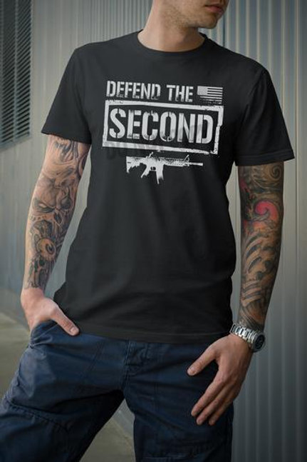 Defend the Second (light grey ink)