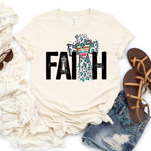 Faith-Blue Leopard