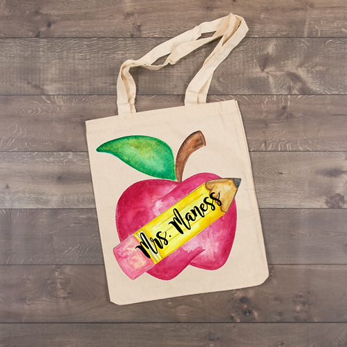Apple Tote (sublimation)
