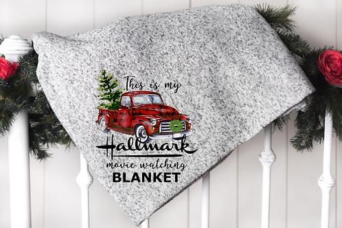 This is my Hallmark watching blanket