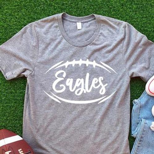 Eagles (football outline)