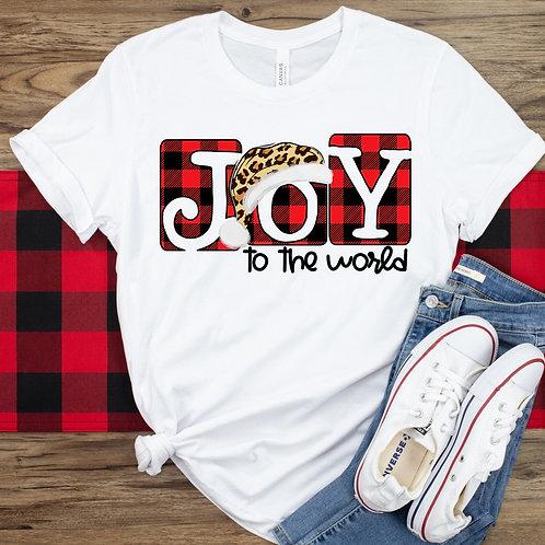 Joy to the world (leopard hat)