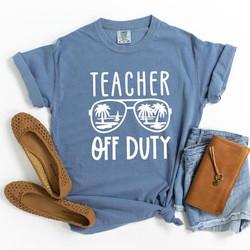 Teacher off duty