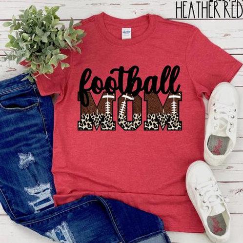 Football Mom Leopard