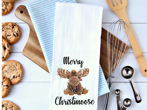 Merry Christmoose Towel